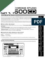 BR-1600CD Manual en Español