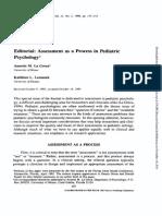 J. Pediatr. Psychol.-1996-La Greca-137-51 pacientes pediatricos caracteristicas.pdf