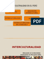 Power Interculturalidad en El Peruu