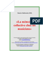 Memoire Collective des Musiciens