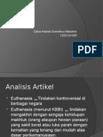 Analisis Artikel Eutanasia