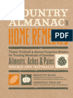 The Country Almanac of Home Remedies - Brigitte Mars, Chrystle Fiedler