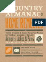 The Country Almanac of Home Remedies - Brigitte Mars, Chrystle Fiedler