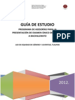Guía de Estudio Tlalpan 2012