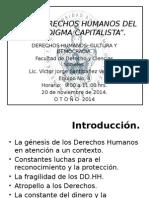 Los Derechos Humanos Del Paradigma Capitalista