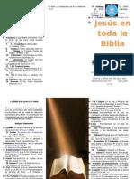 Triptico Jesus en Toda La Biblia