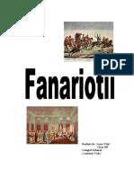 Regimul fanariot