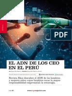 Adn de Los Ceo en Peru