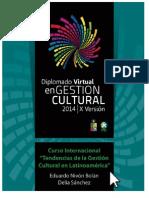 NIVON_SANCHEZ Gestión Cultural en AL 2014