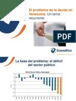 Deuda Puplica en Venezuela