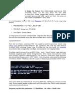 Cara Mengatasi PXE