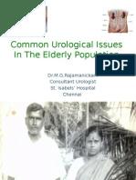 geriatic urology problems