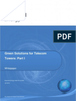 Green Solutions for 0Telecom Tower