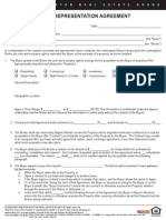 Buyers Representation Form Sample
