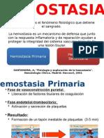 Hemostasia Primaria y Secundaria