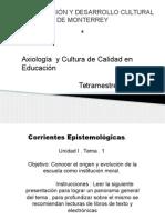 1.Corrientes Epistemologicas