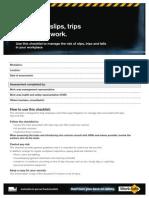 slips prevention