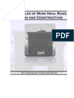 Principles of Mine Haul Road Design and Construction