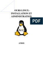 Cours Linux Installation Et Administration
