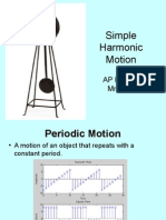 AP Simple Harmonic Motion