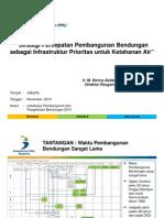 2. Bappenas_Presentasi Lokakarya Bendungan Nov2014_rev01