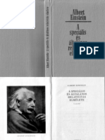 A speciális és általános relativitás elmélete