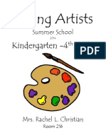 young artists lesson plans 2014-rachel l  christian
