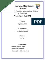 Proyecto de Autocad