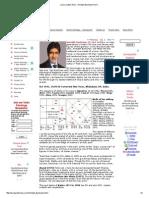 K N Rao methods on famous people horoscope by jamini char dasha