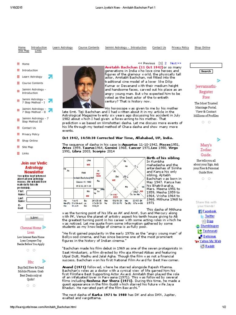 K n rao methods on famous people horoscope by jamini char dasha k n rao methods on famous people horoscope by jamini char dasha planets in astrology hindu astrology geenschuldenfo Images
