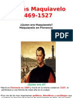 Etapas de Maquiavelo