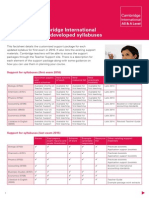 164748 Factsheet Support for Cambridge International as and a Level Redeveloped Syllabuses