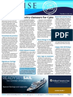 Cruise Weekly for Tue 20 Jan 2015 - C360 bigger than ever, Scenic newbuild, Princess, MSC, Pitcairn, CLIA and much more