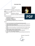 Curriculum Vitae Hendra P