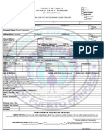 2011 Business Permit Application