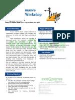 High Performance Leadership Workshop Oct 15-16