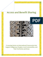 Access and Benefit Sharing (1)