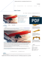 Metallurgical Single Girder Crane_Metallurgical Single Girder Crane