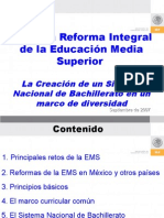 Sistema Nacional de Bachillerato Miguel Szekely