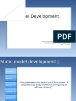 Introduction to Static Model Development