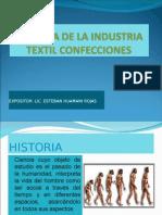 Historia de La Industria Textil Confecciones