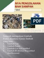 Pentingnya Pengolahan Limbah Sampah