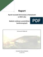 Rynek Turystyki Biznesowej w Katowicach w 2014 Roku