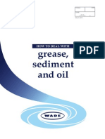 How to Deal With Grease, Sediment and Oil