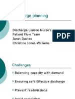 Training Exercises & Presentations - Presentations - Discharge Planning