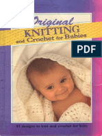 CRO & KNIT - Harmony Original Knitting and Crochet for Babies