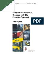 Public Transport Study