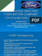 Presentation Ford & Toyota