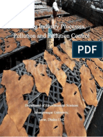 Tanning Industry Processes, Pollution and Pollution Controlby Abu Khairul Bashar