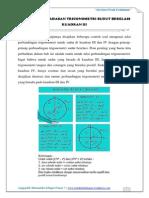 Soal Dan Pembahasan Trigonometri Sudut Berelasi Kuadran III
